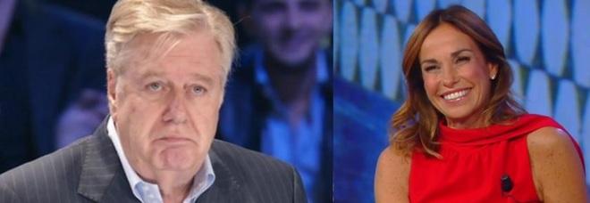 Domenica In, Claudio Lippi contro Cristina Parodi: «Ho fatto quel che mi è stato chiesto, cioè niente»