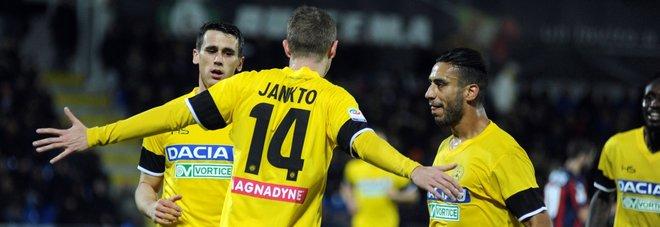 Verona-Genoa 0-1: Pandev, tre punti d'oro Crotone-Udinese 0-3: Jankto fa volare Oddo