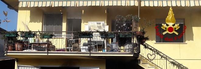 Incendio inuna casa a Zoppè: anziana ricoverata per intossicazione