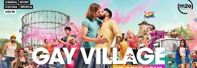 """Via alla campagna del Gay Village: si torna a Testaccio, dal 31 maggio """"sentitevi a casa"""""""