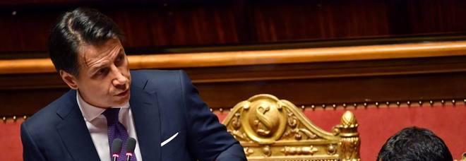 Conte al Senato su Lega e fondi russi: Savoini era a Mosca con Salvini DIRETTA