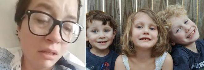 L'ex marito le uccide i 3 figli, il compagno, poi si toglie la vita. Lei sopravvive e dall'ospedale fa un video live su Facebook