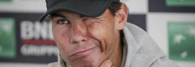 Nadal: «Qui per dare il meglio. Le frasi di mio zio? Non voglio commentare»