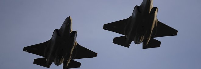 Due jet F-35 dell'U.S. Air Force