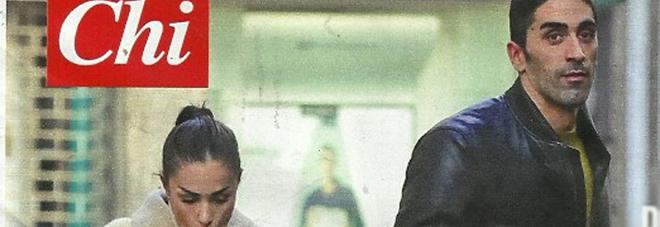 Filippo Magnini a Milano con Valentina