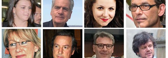 Gli otto candidati a sindaco di Viterbo