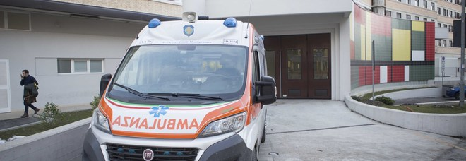 Una ambulanza del 118