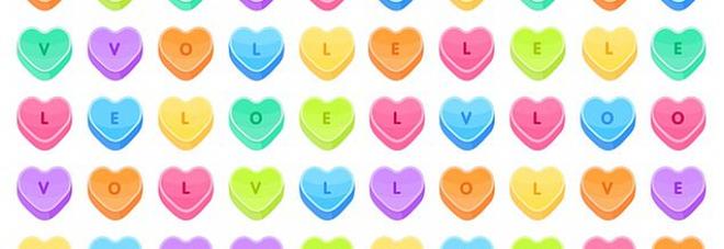 San Valentino, la sfida virale: trovare la parola 'love' in meno di un minuto