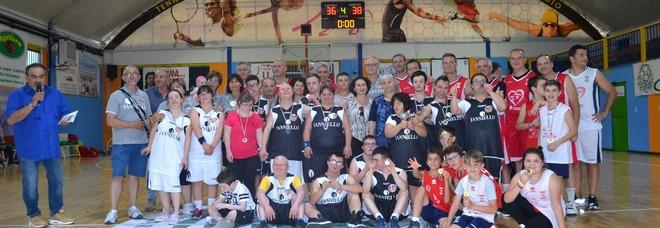 Basket, ex campioni in campo a Cassino in ricordo di Ranieri e D'Aliesio