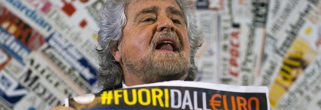 Grillo torna da Farage: «Ora referendum anti-euro»