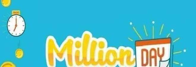 Million Day, i numeri vincenti di mercoledì 18 marzo 2020