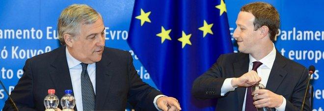 Zuckerberg a Strasburgo: «Via i bulli da Facebook»