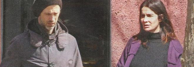 Kim Rossi Stuart e Ilaria Spada incinta (Foto: Nuovo)
