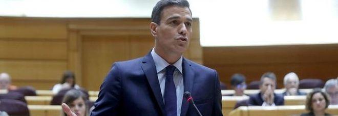 Il premier socialista Pedro Sanchez