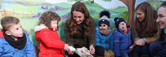 Kate Middleton: «Dobbiamo insegnare ai bambini come esprimere i loro sentimenti»