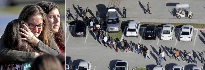 Massacro in una scuola in Florida  «Sedici morti, decine di feriti»