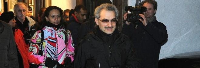 Principe saudita a Cortina