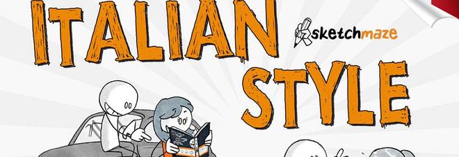 """""""Italian Style"""", il primo libro della serie Sketchmaze: il 13 giugno la presentazione"""