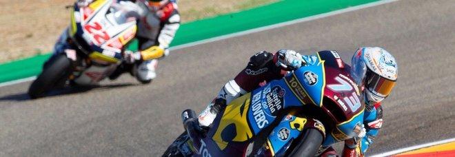 MotoGp, Marquez parte in pole davanti a Quartararo. Sesto tempo per Valentino Rossi