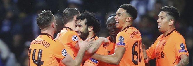 Porto-Liverpool 0-5: tripletta di Mané, a segno anche Salah e Firmino