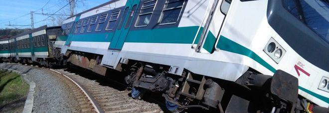 Deraglia il treno dei pendolari, paura sulla Roma-Viterbo: tratta interrotta a Sant'Oreste