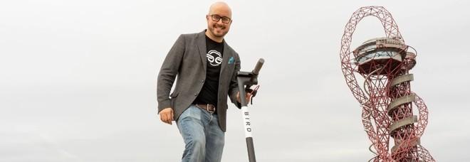Ecco Bird, lo sharing di scooter elettrici in fase di prova: «Su strada non possono circolare»