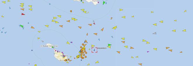 Aquarius, dov'è la nave migranti: la rotta in tempo reale