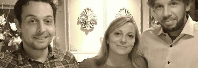 Alessandra Manias con Zago e Simionato