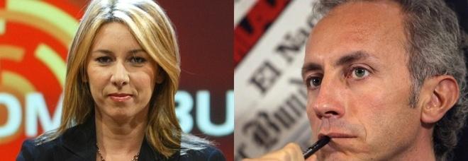 Gaia Tortora contro Marco Travaglio. La giornalista del tg de La7 sbotta su twitter : «Ora basta. Vaffa...»