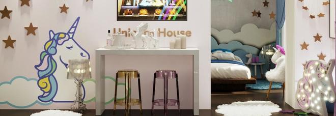 Casa degli unicorni per dormire nel mondo delle fiabe: ecco come affittarla