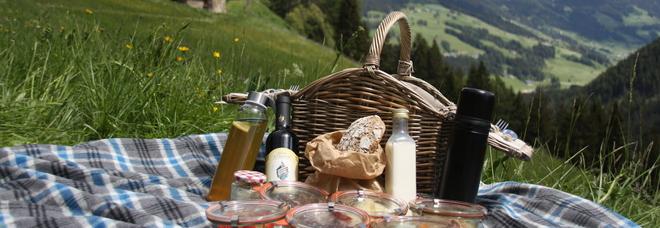 Mangiare in baita? No, sui prati. Così i cestini dell'Alto Adige fanno tendenza: «Estate boom»