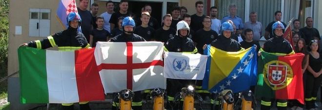 Un leccese tra i 28 firemen della Legione straniera