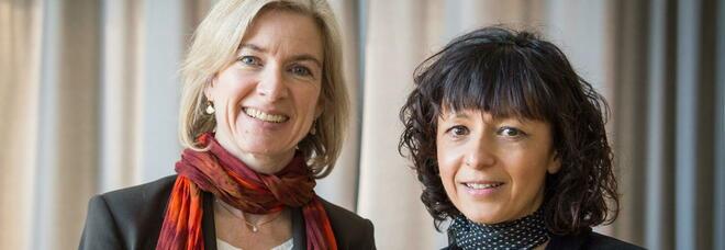 Nobel per la chimica a Emmanuelle Charpentier e Jennifer Doudna per il taglia-incolla del Dna