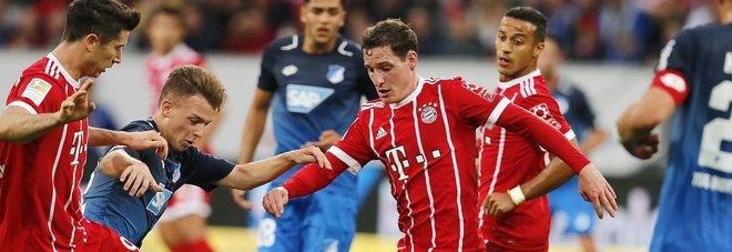 Con l'Hoffenheim il Bayern perde imbattibilità e primato