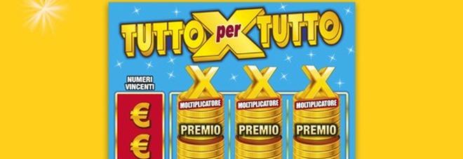 Gratta e Vinci, vinti 500mila euro a Firenze con un biglietto 'Tutto per Tutto'