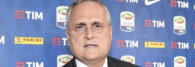 Lazio, Lotito: «Napoli e Juve alle prime giornate? Chi ben comincia è a metà dell'opera»