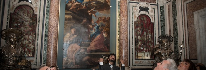 Tesoro di San Gennaro, nartea