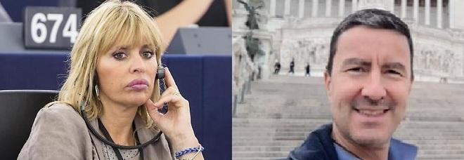 Alessandra Mussolini e Caio Giulio Cesare Mussolini