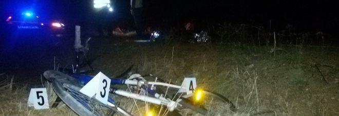 Ciclista investito e ucciso sulla strada per il mare