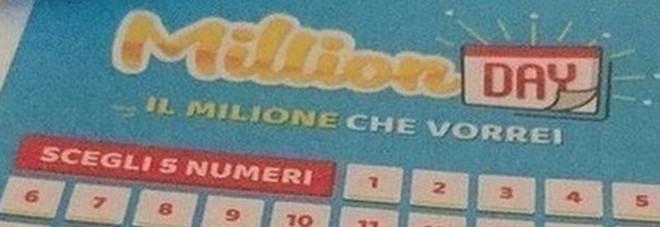 Million Day, i numeri vincenti di martedì 18 febbraio 2020