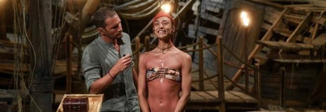Isola, Soleil Sorgè scoppia a piangere con Riccardo Fogli: «Non sono così forte». Ecco cosa sta succedendo (foto ufficio stampa Magnolia)