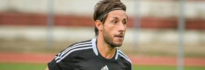 Il centrocampista del Gaeta Mauro Bosco