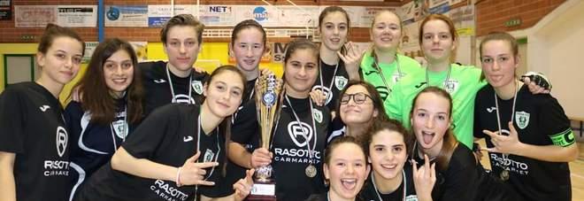 Le ragazze del Dream Five Dueville campionesse venete juniores