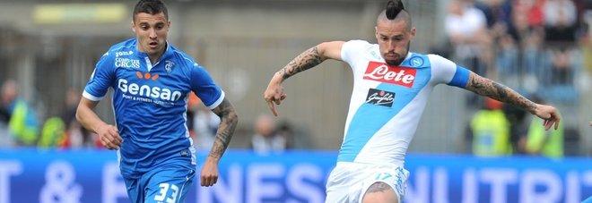 Napoli, Hamsik: «Roma davanti ma vogliamo il secondo posto