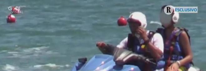 Figlio Salvini sulla moto d'acqua: la Procura di Ravenna apre un fascicolo