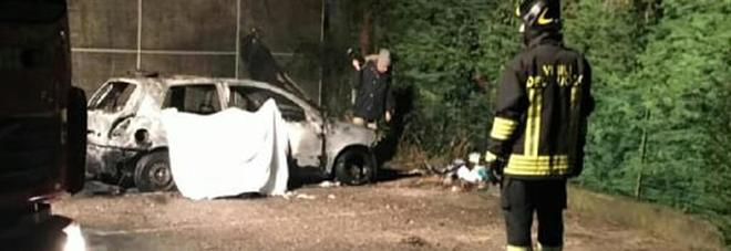 Carbonizzato in auto, il 13enne:  «Scherzo con i rotoloni incendiati»