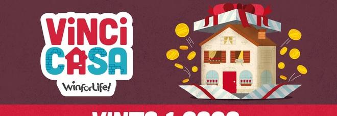 """VinciCasa: a Roma centrato un """"5"""" da 500mila euro per l'acquisto di una casa"""