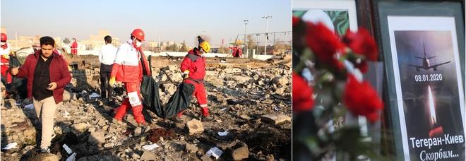 Iran, il giallo dell'aereo ucraino caduto. Kiev: «Ipotesi missile». Teheran non consegna le scatole nere