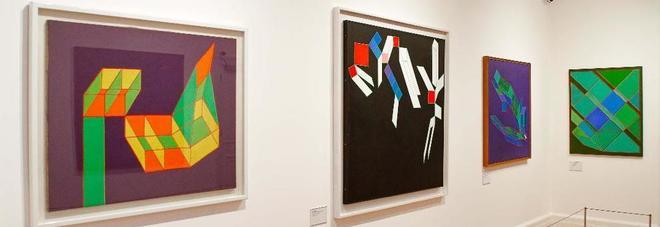 L'arte italiana conquista gli inglesi: le opere di Achille Perilli in esposizione a Londra