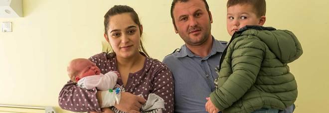 La prima nata e la sua famiglia